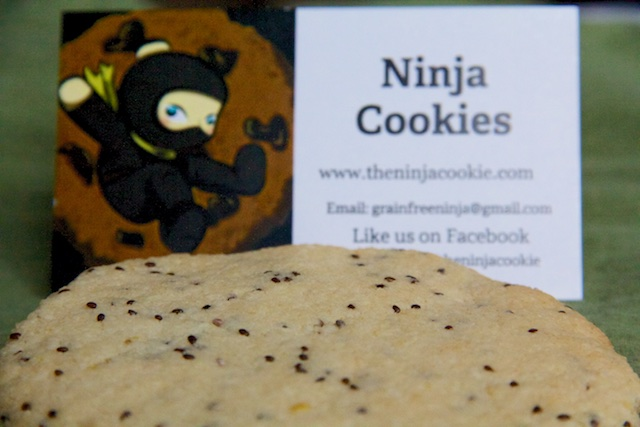 Denver Urban Homesteading Ninja Cookies Feb 2015