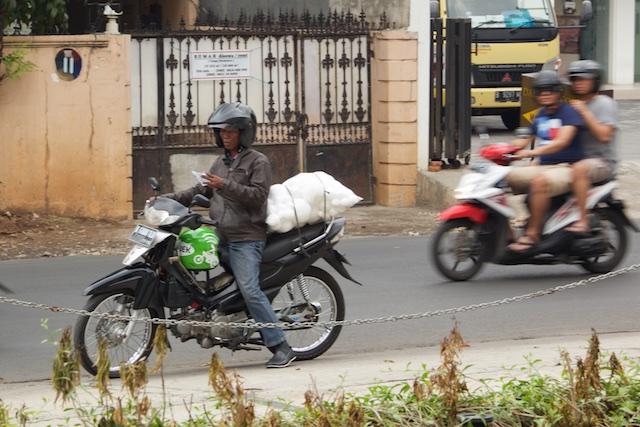 Gojek Jakarta Indonesia Oct 2015
