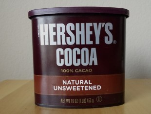 Hershey's natural cocoa