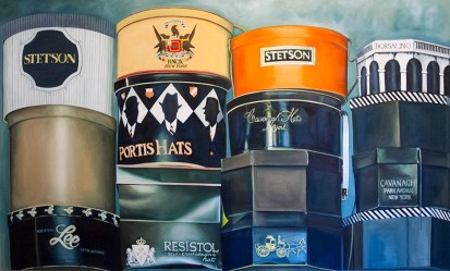 Al's Hat Boxes by Beth Pederson