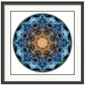 Beat Of The World Mandala Framed Print By Beth Sawickie