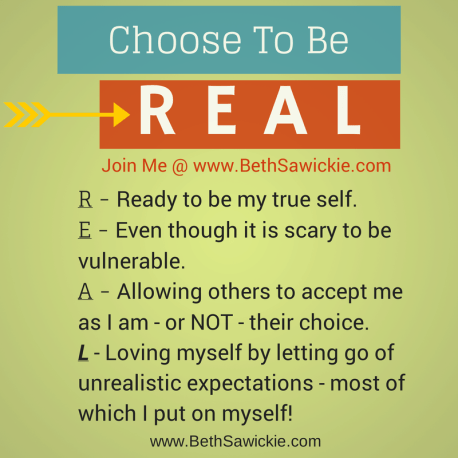 Be Real - http://www.bethsawickie.com/be-real