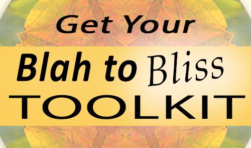 Get Your Blah to Bliss Tool Kit