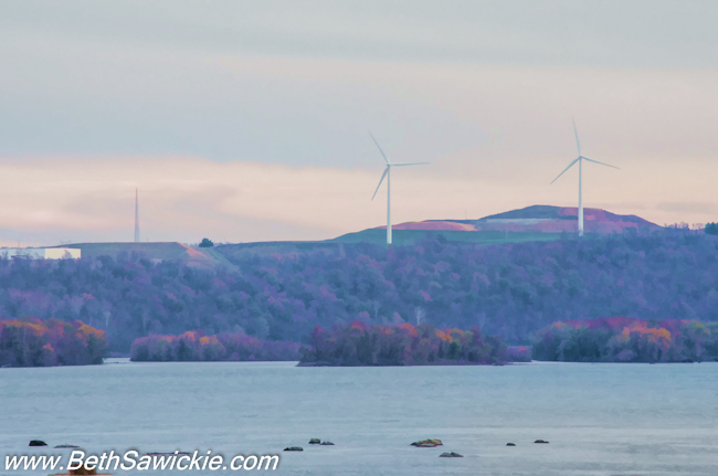 Columbia PA Bridge Wind Mills by Beth Sawickie fall-stroll-columbia-bridge-susquehanna