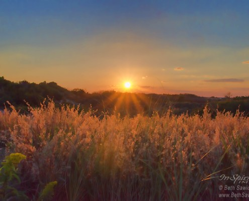 Sun Setting Over Island Beach State Park by Beth Sawickie http://bethsawickie.com/sun-setting-over-island-beach-state-park