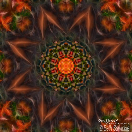 "Image by Beth Sawickie. www.BethSawickie.com ""Sphere of Life Mandala"""