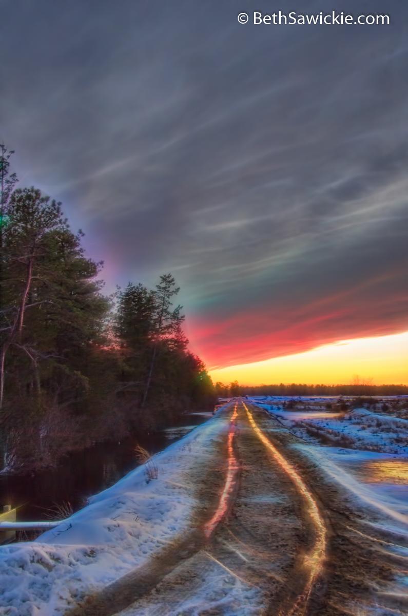 Sunset Glow 8 by Beth Sawickie