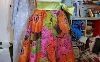 Full Circle Ankara Wrap Skirt