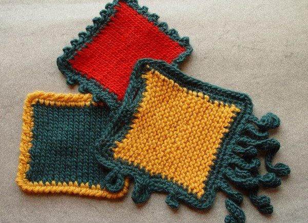 Just Enough Crochet class samples