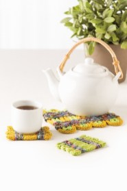 Twined I-cord Table Topper