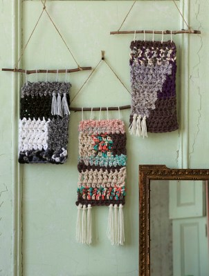 Crochet Wall Hangings