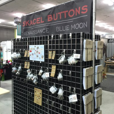 Skacel buttons display
