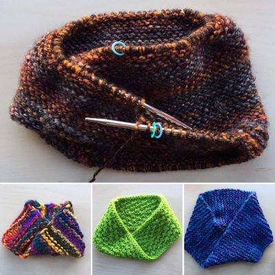 The Moebius Cowl: A Circle With A Twist