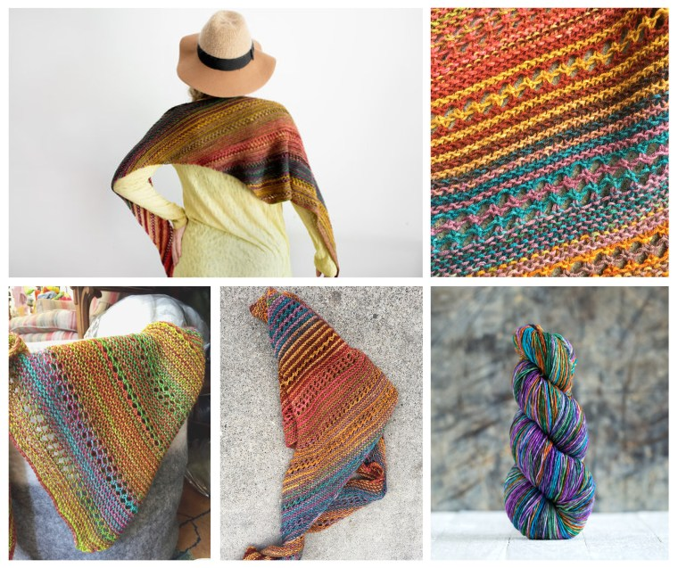 ImagiKnit Project of the Month, June: Taina Shawl
