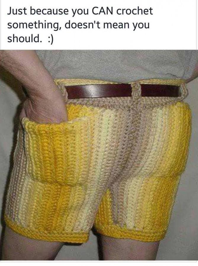 CrochetShorts