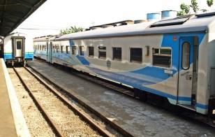 Train at Jogja station