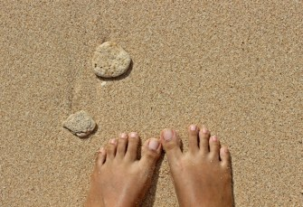 The Toes and Beach