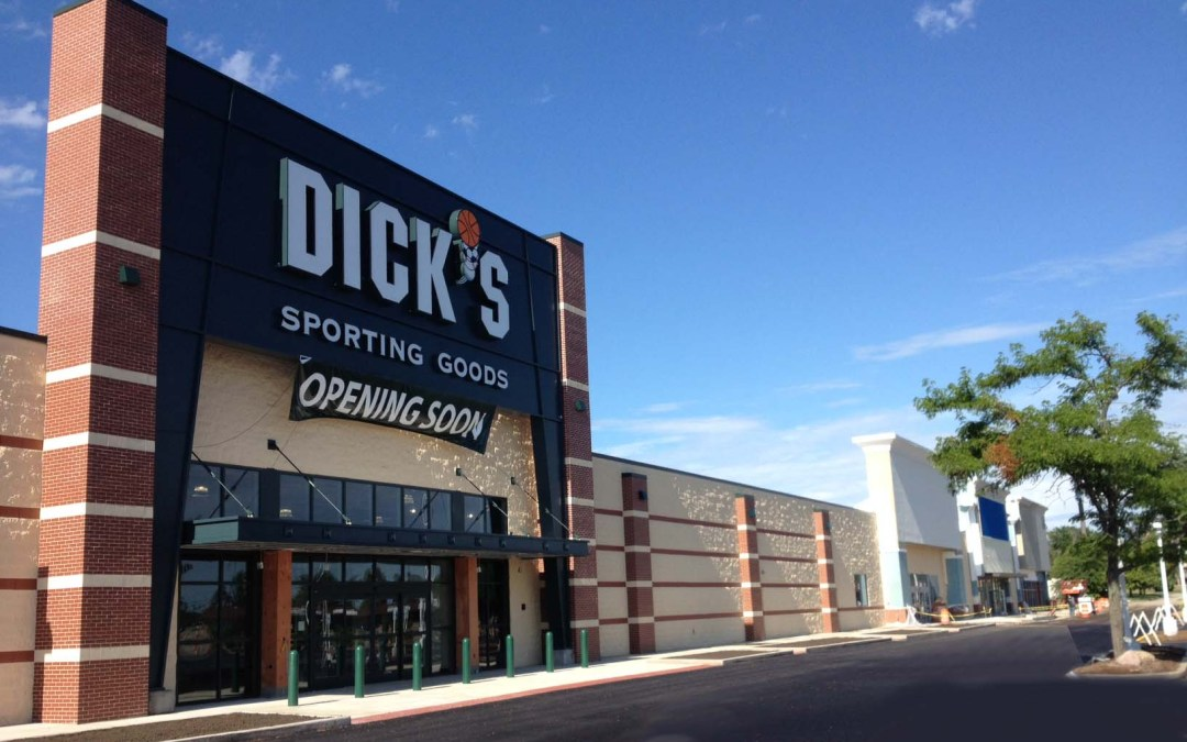 Dicks Sporting Goods : Empire Crossing preps for store openings