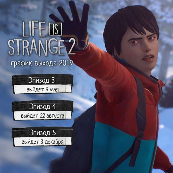 Авторы Life is Strange 2 объявили даты выхода оставшихся ...