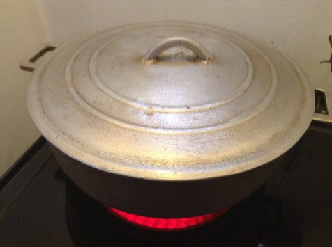 Cook Pizza in a pot/dutch pot