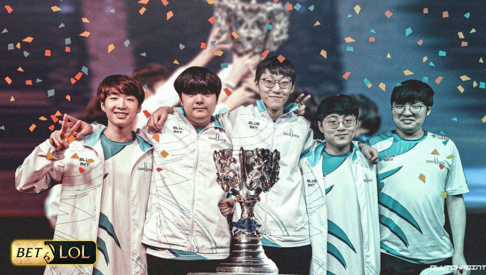 South Korea's DAMWON Gaming Wins LoL Worlds 2020