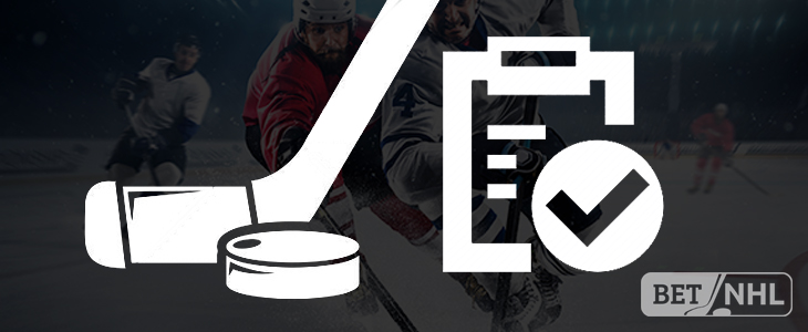 nhl betting rules