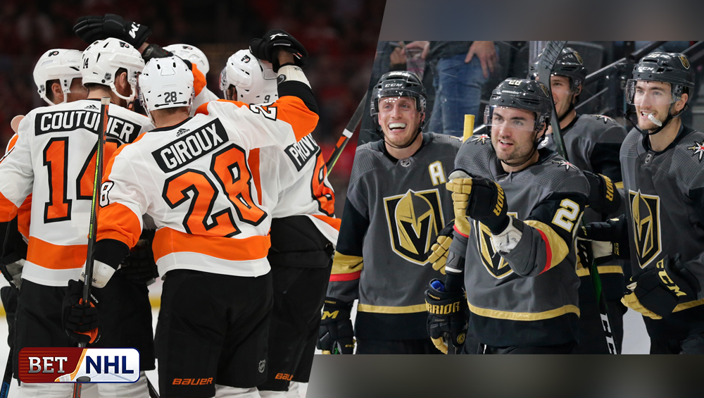 NHL Round-Robin Standings; Flyers, Knights As Top Seeds