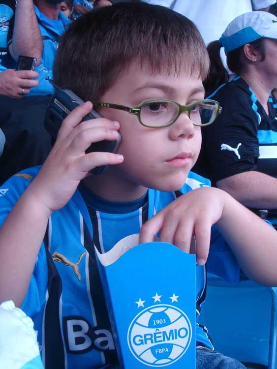 Meu neto Théo no Olímpico