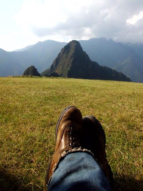 Ai meu Machu Picchu, ninguém segura este meu delírio...