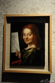 Verona 1301025 059 Castelvecchio Madona Giovanni Francesco Caroto menino com desenho lindo