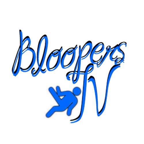 Bloopers TV Blue Logo