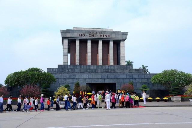 ホーチミン廟:首都の建築及び文化的空間の典型的なところ1