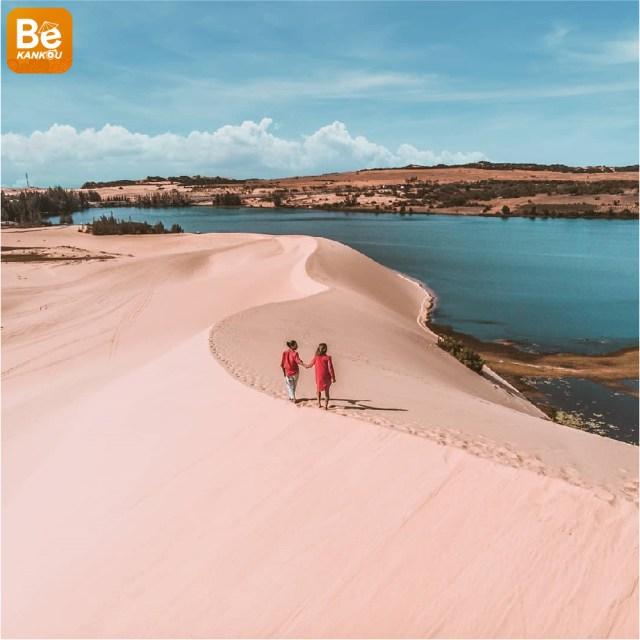 小サハラ砂漠のようなバウトラン砂丘-014