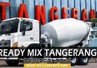 harga beton cor ready mix tangerang