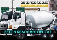 harga beton ready mix ciputat