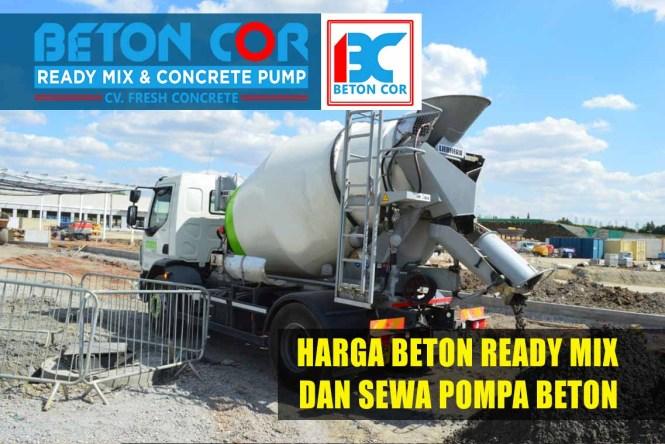 harga beton ready mix