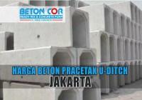 harga beton precast u ditch jakarta