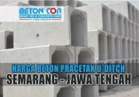 harga beton u ditch semarang