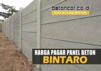 harga pagar panel beton bintaro