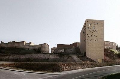 Vingård i Burgos. Arkitekt: Estudio Barozzi Veiga. Foto: Mariella Apollonio