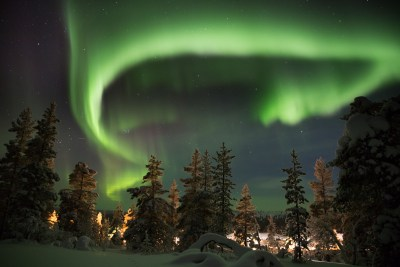 Aurora Borealis (Northern Lights). Foto: Av Mihai Speteanu / Shutterstock