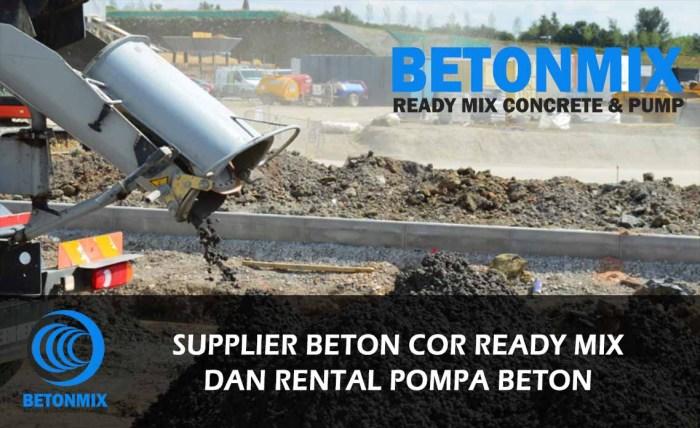harga beton cor ready mix jayamix jabodetabek