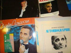 Aznavour em vinil chez les Queiroz