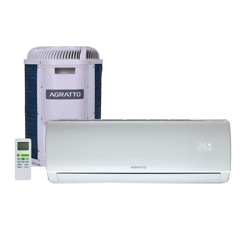 Ar Condicionado Split Hw On/off Eco Top Agratto 9000 Btus Quente/frio 220V Monofasico
