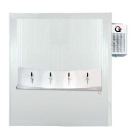 Câmara Fria Gallant/Continental CMR1 Especial Cervejeira  com PLUG-IN (Sistema de Refrigeração Integrado) 220V Mono