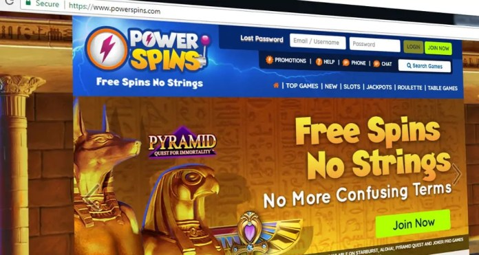 power spins casino
