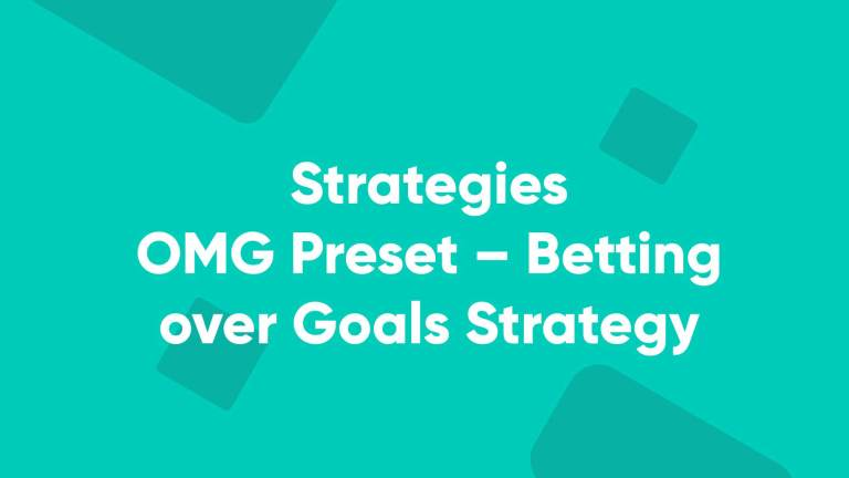 Betpractice studio OMG Preset – Betting over Goals Strategy