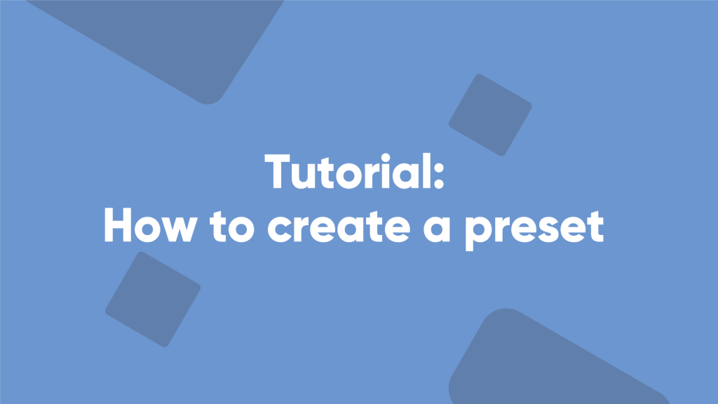 betpractice studio how to create a preset tutorial