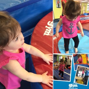 Keely enjoying her first gymnastics class. Has nothing to do with Whole30, but everything to do with having a healthy family.