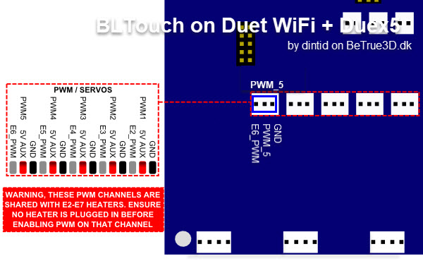 Created a Guide to setup BLTouch on Duet WiFi + Duex | Duet3D
